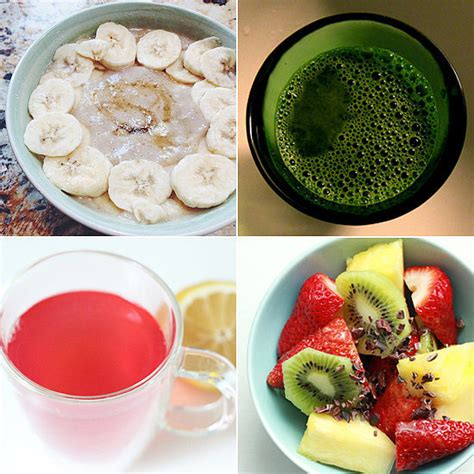 Breakfast On A Detox Diet by Detoxing Breakfast Recipes Popsugar Fitness