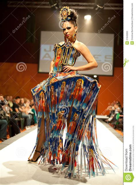 carnival fashion week editorial stock photo image 21840893