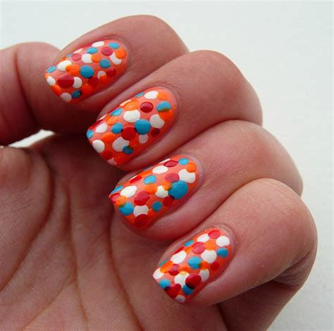 Nagel Ideeen by Girlsthings Koninginnedag Nagel Idee 235 N