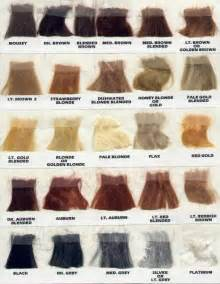 hair color swatches the china doll porcelain dolls miniatures
