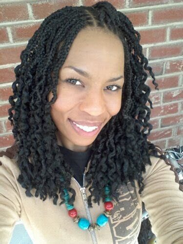 braids that are curly at the ends box braids with wavy ends www pixshark com images