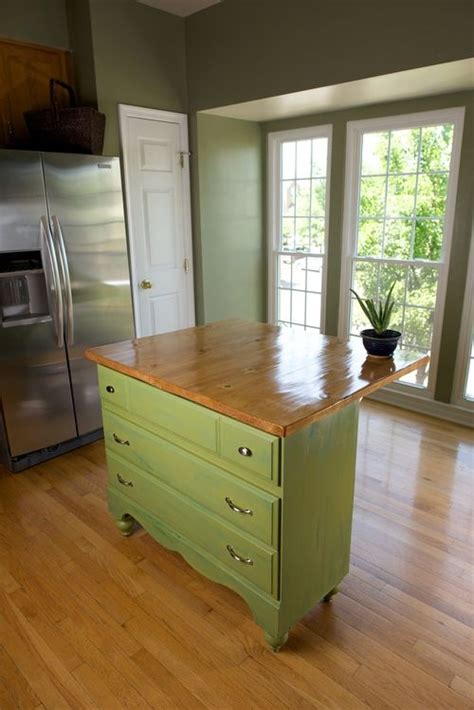 repurposed kitchen island ideas dresser to kitchen island dresser and kitchens