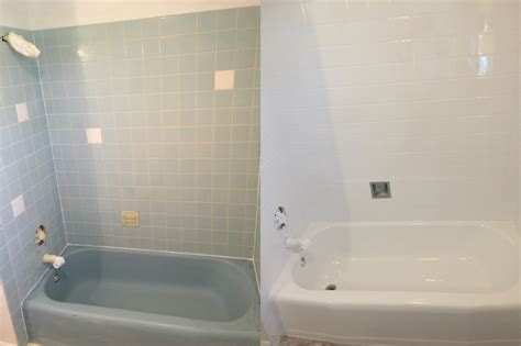 how to clean a reglazed bathtub bathtub refinishing tile reglazing from cutting edge chicago