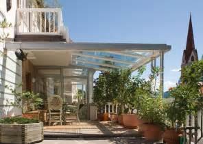 tettoie trasparenti per esterni copertura in vetro pergole e tettoie da giardino