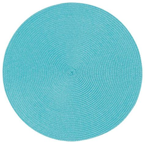 Turquoise Place Mats by Now Designs Disko Placemats Set Of Four Turquoise New Ebay
