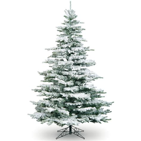 photos of atrificial christmas tress with snow 7ft snowy flocked noble pine tree artificial tree best seller ebay
