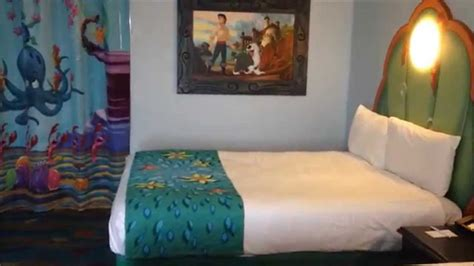 mermaid area room tour at disney s of