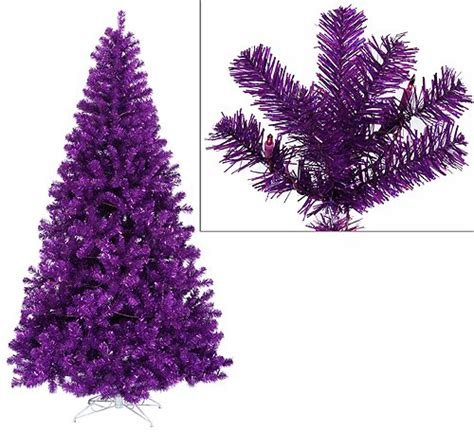 buying a purple christmas tree it s christmas time