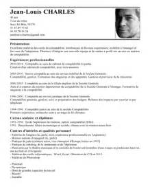 Expert Resume Sles by Cv Comptable Le Dif En Questions