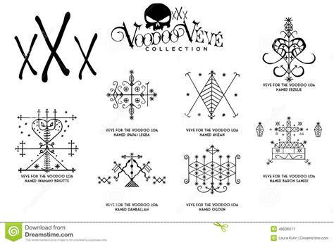 Haitian Voodoo Symbols