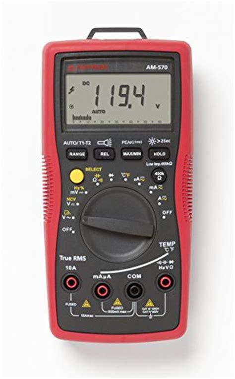 Mm 2 Digital Multimeter With True Rms am 570 industrial digital multimeter with true rms ebay
