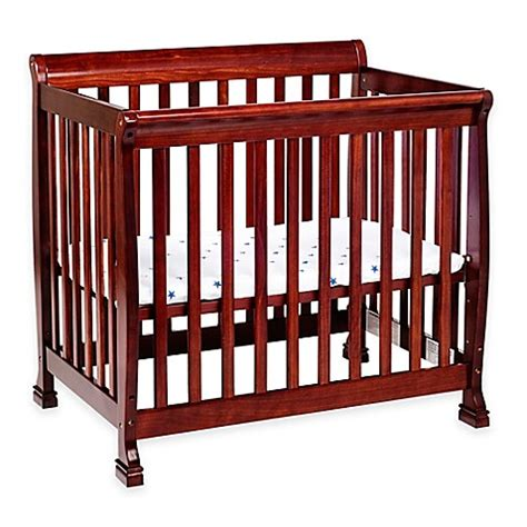 Mini Cribs For Sale Davinci Kalani 2 In1 Convertible Mini Crib In Cherry Buybuy Baby