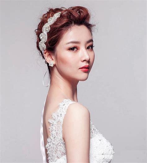 korean bridal hairstyles korean girls top ten trendy wedding hairstyles