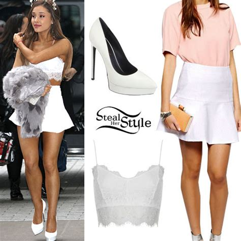 what is ariana grandes style ariana grande s clothes outfits steal her style page 8