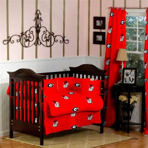 10 pc crib bedding sets bulldogs baby crib bedding 10 pc set for 134 95