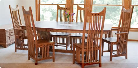 Handmade Dining Room Furniture - choosing amish furniture for your home blogalways