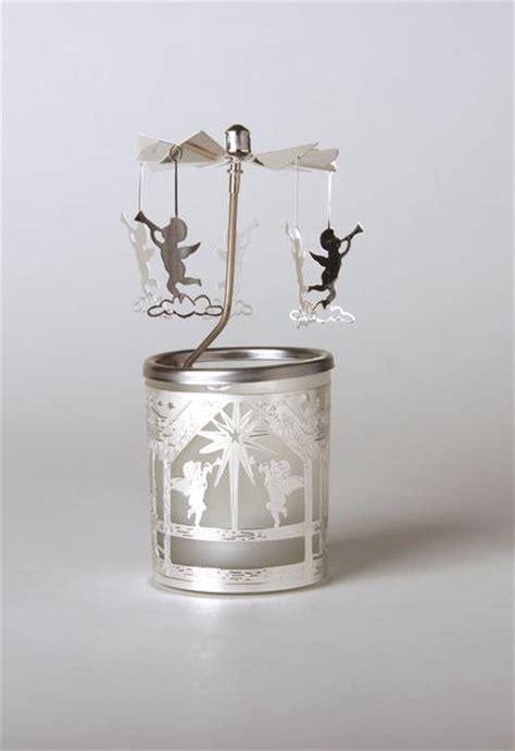 windlicht glas teelicht glas karussell windlicht engelstrompete teelicht