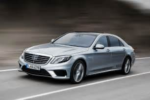 Mercedes S Models 2014 Mercedes S63 Amg S Model Front Three Quarters In