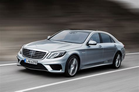 first mercedes 2014 mercedes benz s63 amg s model front three quarters in