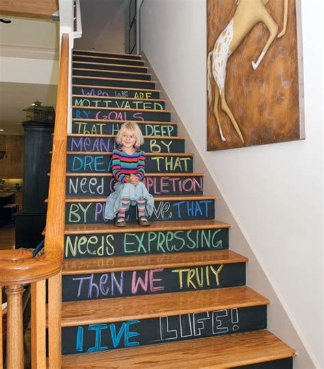 chalkboard paint ideas for basement 31 brilliant stairs decals ideas inspiration