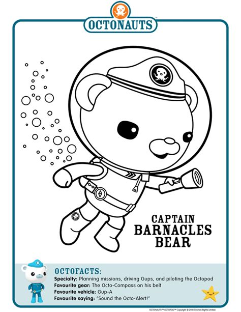 octonauts print outs to colour in octonauts pinterest