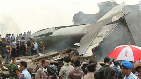Air 2 Indonesia scores dead after c 130 plane crash in city cnn