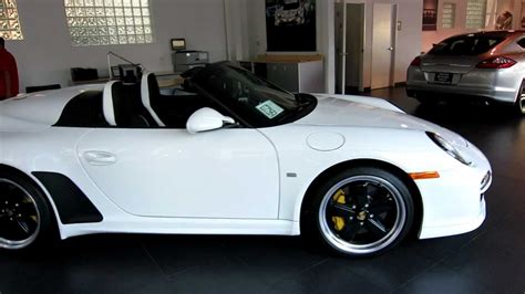 2011 porsche speedster for sale 2011 porsche speedster carrara white limited production