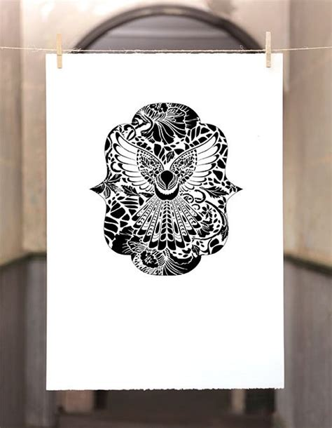 printable tattoo paper nz 12 best images about fantail print on pinterest paper