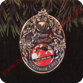 1993 anniversary year personalized christmas ornament