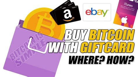 Buy Ebay Gift Card With Bitcoin - buy bitcoin with gift card amazon ebay itunes etc youtube