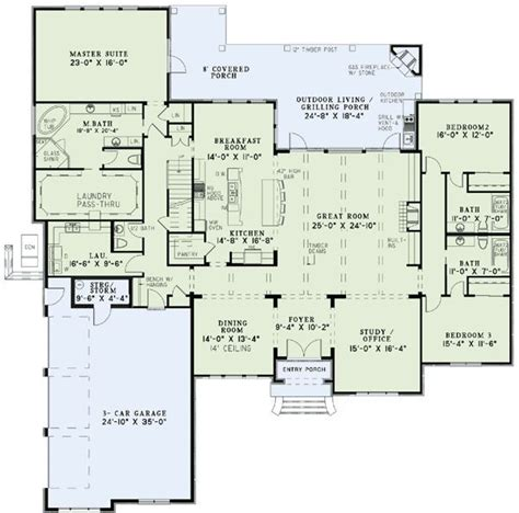 house design with entrance to office from master suite 25 best ideas about ranch floor plans on