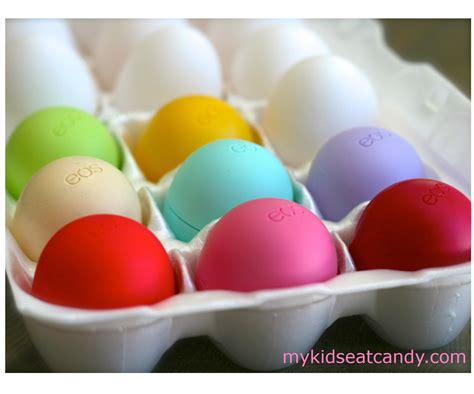 Decorated Eos Lip Balm by Eos Lip Balm Easter Eggs Favorite Lip Balm A Great