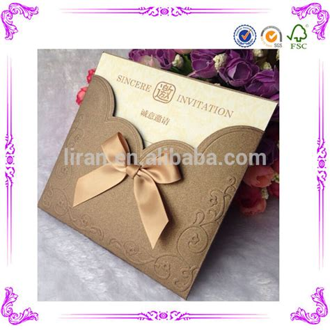 Wedding Card Invitation Models by China Wholesale Wedding Invitation Card