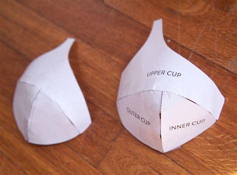 How To Make Paper Bra - a foam cup bra part 1 cloth habit bloglovin