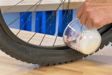 how to seal bead on tubeless tire tubeless tire removal and installation park tool