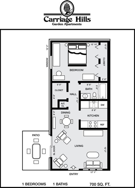 1 bedroom guest house floor plans 700 sq ft floor plans take a pensacola apartment floor plans estudiantes pinterest