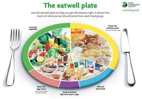 nhs eat well plate fivetwodiet