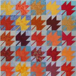free patterns from junction maple leaf blocks