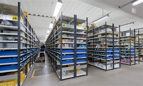 Small Parts Racking by Small Parts Shelving S90 Standard Pss Shelving Systems