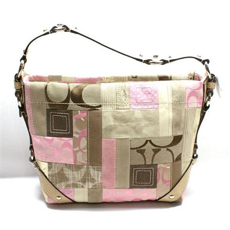 Patchwork Coach Bag - coach signature patchwork bag 13720 coach 13720