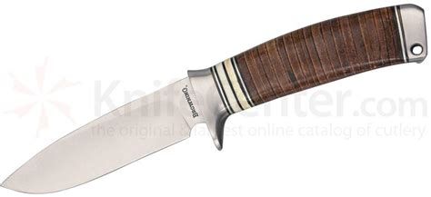 Sharpen Kitchen Knives browning hunting knife fixed 4 quot blade stacked leather