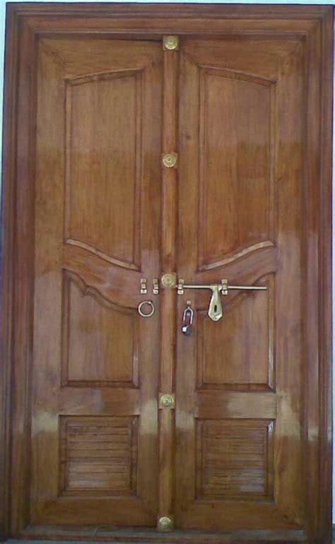 double door designs latest kerala model wooden double doors designs gallery