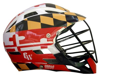 Lacrosse Giveaways - thursday giveaway enter to win one maryland flag helmet decal by gorilla wrapz