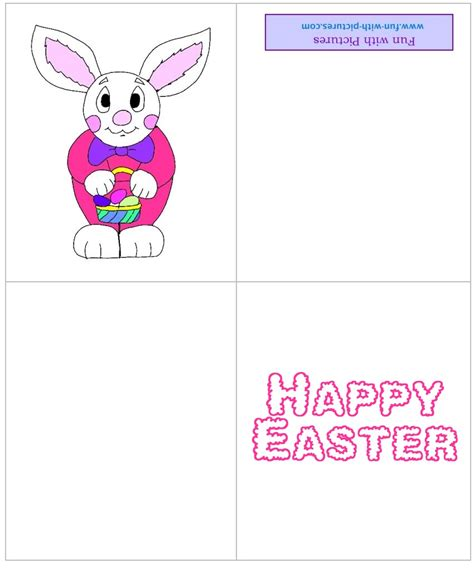 Easter Cards To Print