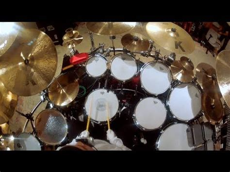 gopro music: dave matthews band's carter beauford drum