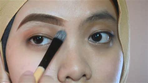tutorial alis tanpa cukur eyebrows tutorial lukis kening tanpa cukur youtube