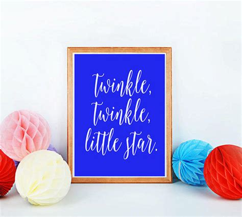 printable quot strive for from mixarthouse on etsy printable nursery quot twinkle from mixarthouse on etsy