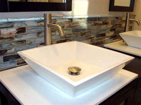glass tile backsplash bathroom sumi e glass backsplash modern tile other metro by