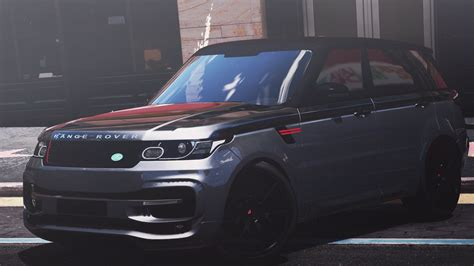 land rover mod range rover sport startech 2016 add on animated