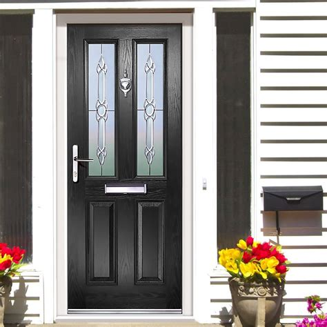 Exterior Composite Doors Exterior Simplicity Clifton Torino Composite Door Shown In Black